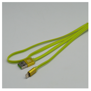 Data kabel REMAX Quick RE-005m Micro USB zeleni 1m.