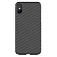 Nillkin Synthetic Fiber iPhone X/XS crni