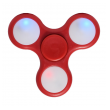Fidget Spinner LED light crveni