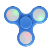 Fidget Spinner LED light plavi