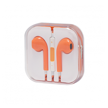 Slusalice za iPhone 6 orange 3,5mm