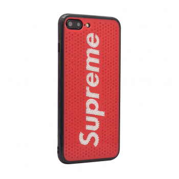 Supreme Crystal case iPhone 7 Plus/8 Plus crvena