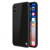 Nillkin Tempered Plaid case iPhone X crni.
