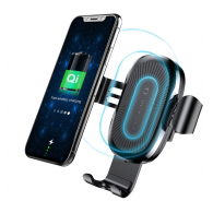 Baseus Wireless Charger Gravity Car Holder crni