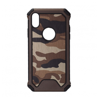 Maska Army Defender iPhone XR braon.
