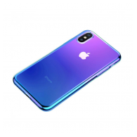 Baseus Glow case iPhone XS plava