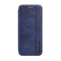 Teracell Leather iPhone XR plava.