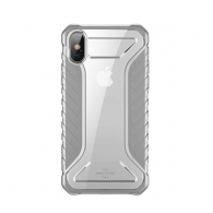 Baseus Michelin case iPhone XS sivi