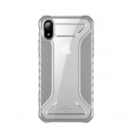 Baseus Michelin case iPhone XR sivi.