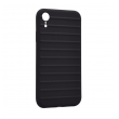 Ribbed case iPhone XR crna