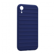 Ribbed case iPhone XR plava