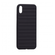 Ribbed case iPhone Xs Max crna