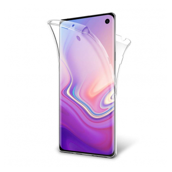 All cover silicone Samsung S10 Plus/G975 transparent