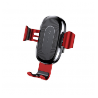 Baseus Wireless Charger Gravity Car Holder crno-crveni