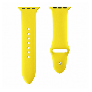 Apple Watch Silicon Strap light yellow S/M 42/44mm