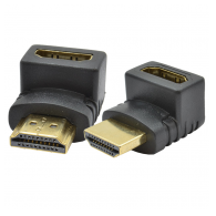 Adapter HDMI ugaoni 90° HDMI-KA/90 F/M