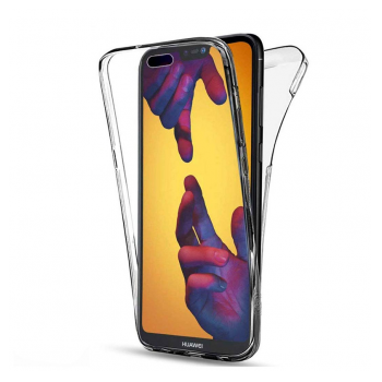 All cover silicone Huawei Y7 Pro (2019) transparent