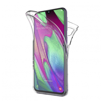 All cover silicone Samsung A40/A405F transparent