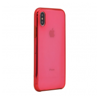X-Clear Apple case iPhone X/XS crvena