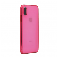 X-Clear Apple case iPhone X/XS pink