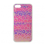 Hologram 3D Leopard iPhone 7/8 roza