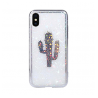 Tropic case iPhone X/XS bela