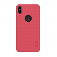 Nillkin Super Frosted Shield iPhone X/iPhone XS crveni (sa otvorom za logo)