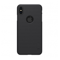 Nillkin Super Frosted Shield iPhone XS Max crni (sa otvorom za logo)