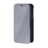 Glass flip cover Huawei Y6 (2019)/Honor 8A crni