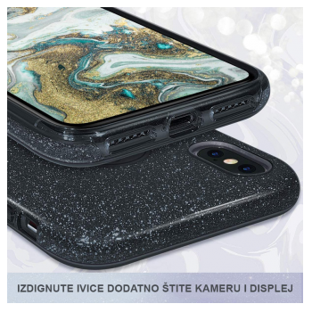 maska crystal dust iphone 11 crni