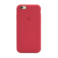 Heart case iPhone 6 crvena