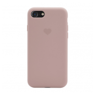 Heart case iPhone 7/8 sand pink