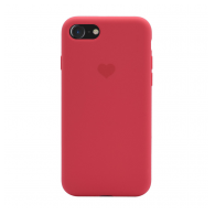 Heart case iPhone 7/8 crvena