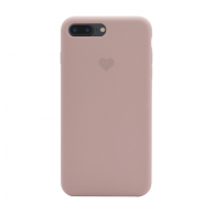 Heart case iPhone 7 Plus/8 Plus sand pink