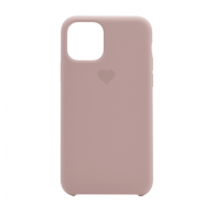 Heart case iPhone 11 sand pink