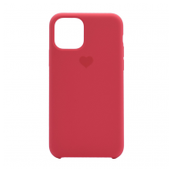 Heart case iPhone 11 crvena