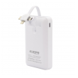 Power Bank Fonsi (YD23) 3u1 Micro/Lightning/Type C (fast charge) 10.000 mAh bela