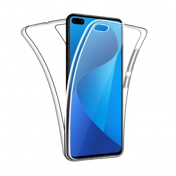Maska All cover silicone za Huawei P40 transparent.