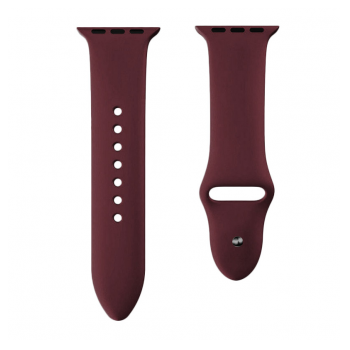 Apple Watch Silicon Strap maroon S/M 42/44mm