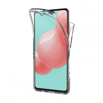 All cover silicone Samsung A21s/A217F transparent
