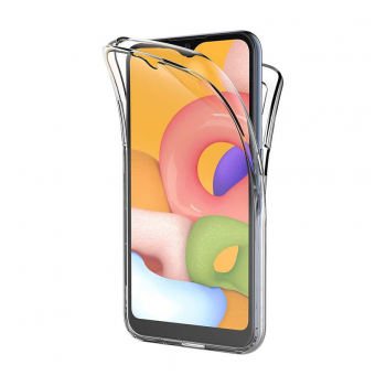 All cover silicone Samsung A01/A015F transparent