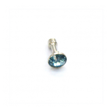 Charms 3.5mm Charm Big Light Blue